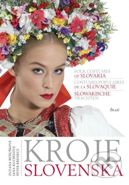 Kniha Kroje Slovenska pre milovníkov ľudového umenia | PARTA