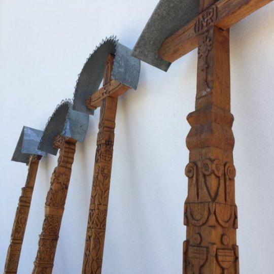 Vyrezávaný veľký Detviansky kríž | PARTA